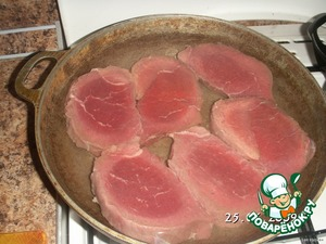 Варено–тушеная телятина – кулинарный рецепт