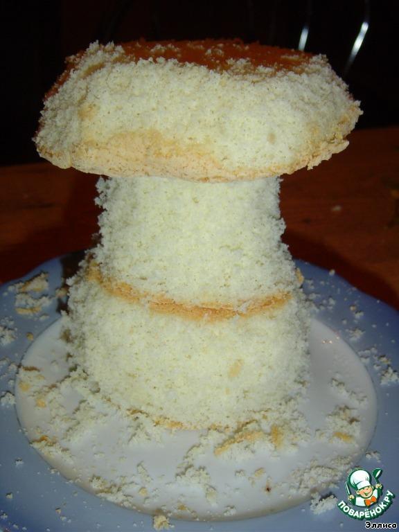 """Торт """"Грибная пора"""""""