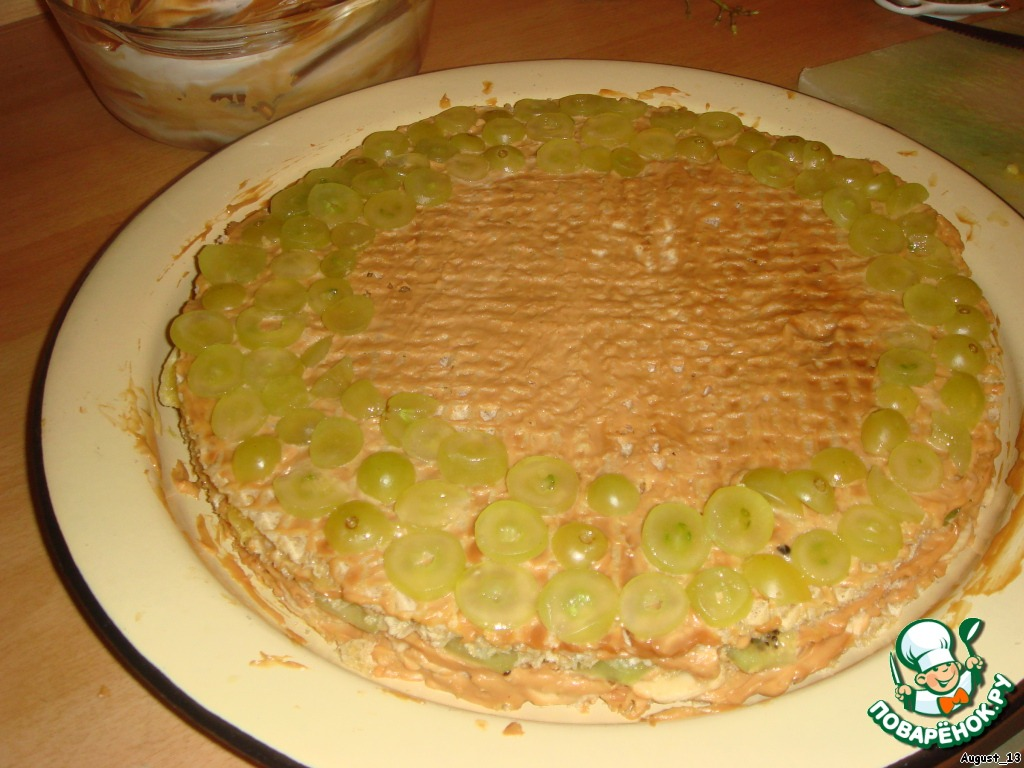 Старый добрый вафельный торт