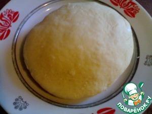Постепенно вливайте цельное молоко и перемешивайте до тех пор, пока не получится плотное и эластичное тесто.