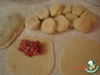 Чебуреки из заварного теста ингредиенты