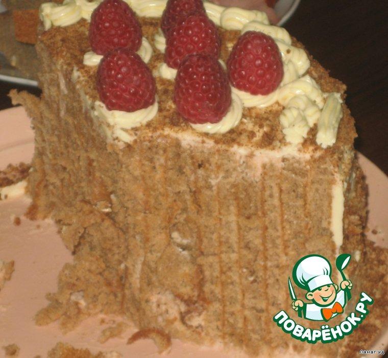 Торт Малиновый пенeк
