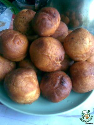 Тыквенные пончики, пошаговый рецепт на 1129 ккал, фото, ингредиенты - Галиюша