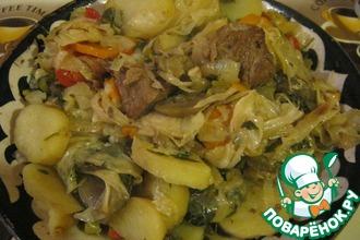 Рецепт: Домляма по-узбекски