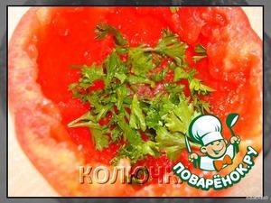 add finely chopped fresh herbs I had parsley
