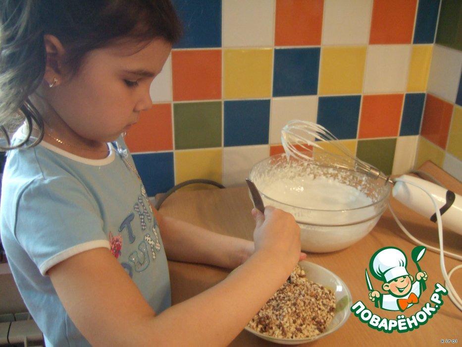 Ореховая лакомка с шоколадом