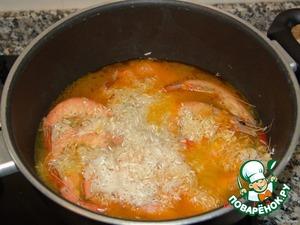 Креветки с рисом по-португальски – кулинарный рецепт
