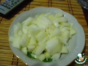 Onions finely chop