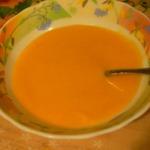 Тыквенный суп-пюре с имбирем и сельдереем