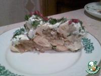 """Закусочный торт  """"Новогодняя красавица"""" ингредиенты"""