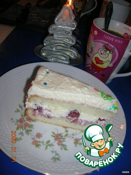 """Торт """"Вишнeвое наслаждение"""""""