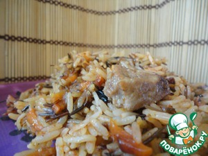 """Try this not quite """"right"""" and lightweight pilaf! You will like it!  After cooking pilaf sat at the computer to put recipe while I typed the recipe - pilaf disappeared into the stomachs of my family."""