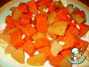 Тыква с яблоками – кулинарный рецепт