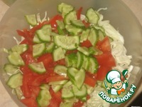 """Овощной салат """"Свежесть"""" ингредиенты"""