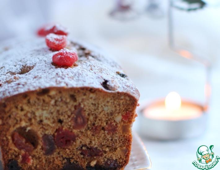 Рецепт: Темный рождественский кекс