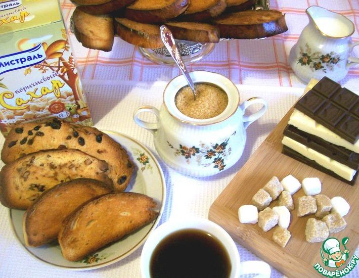 Рецепт: Сухари Городские домашние