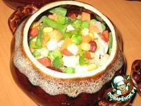 Пельмешки в горшочках ингредиенты
