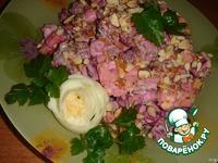 Салат из говядины с сыром и свеклой ингредиенты