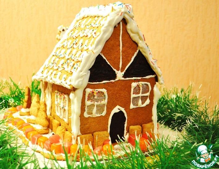 Рецепт: Пряничный домик