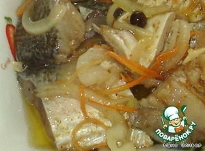 Плов с толстолобиком в таджине – кулинарный рецепт