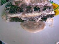 Мокрый торт Птичье молоко ингредиенты