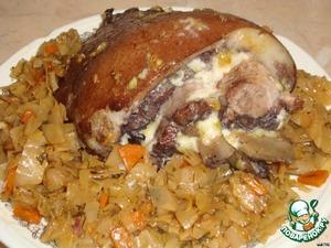 Фаршированная свиная рулька – кулинарный рецепт