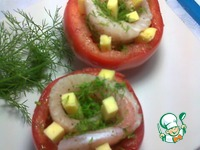 Рыба, запечённая в помидорах ингредиенты