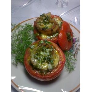 Рыба, запечённая в помидорах