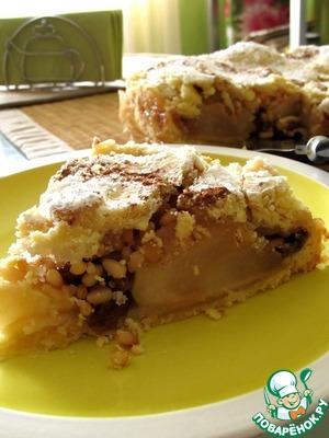 Рецепт Голландский яблочный пирог