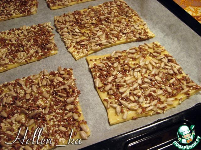 рецепт пресного зернового печенья