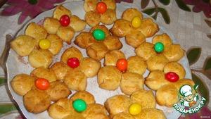 """Печенье """"Цветочки для моей дочки"""" – кулинарный рецепт"""