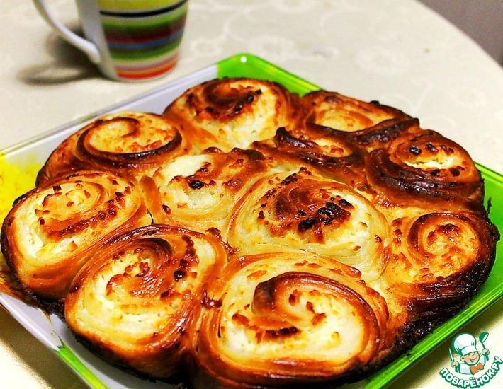 Рецепт: Дрожжевой пирог Бабушкин тутманик
