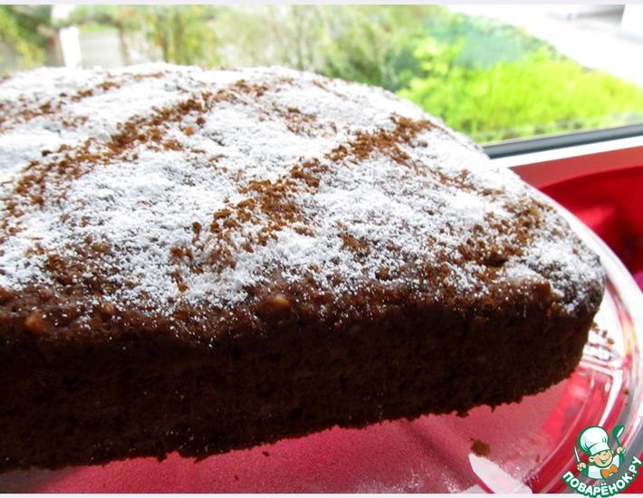 Рецепт: Тыквенный пирог с ананасом