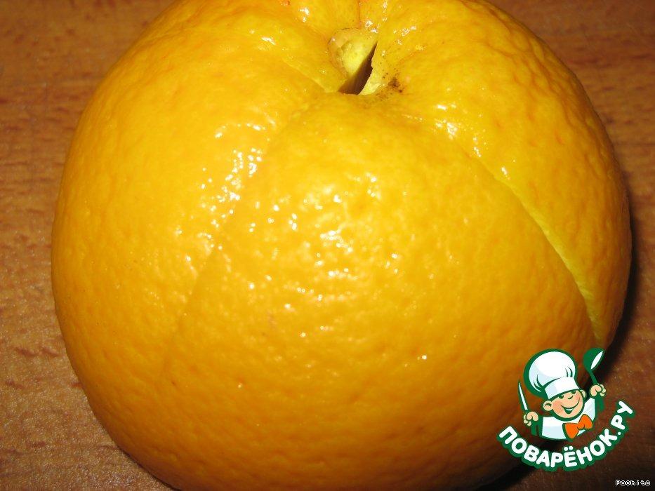 Апельсиновые дольки с желе