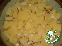 """Пикантное куриное филе """"Наша ряба"""" с ананасами ингредиенты"""