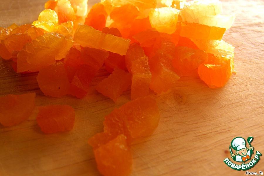 Трюфели с шафраном и сушеным абрикосом