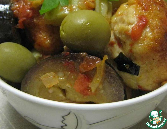 Фрикадельки из индейки с овощами и хлопьями – кулинарный рецепт
