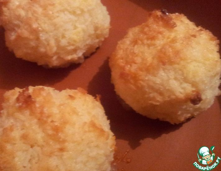 Рецепт: Печенье Кокосовые шарики