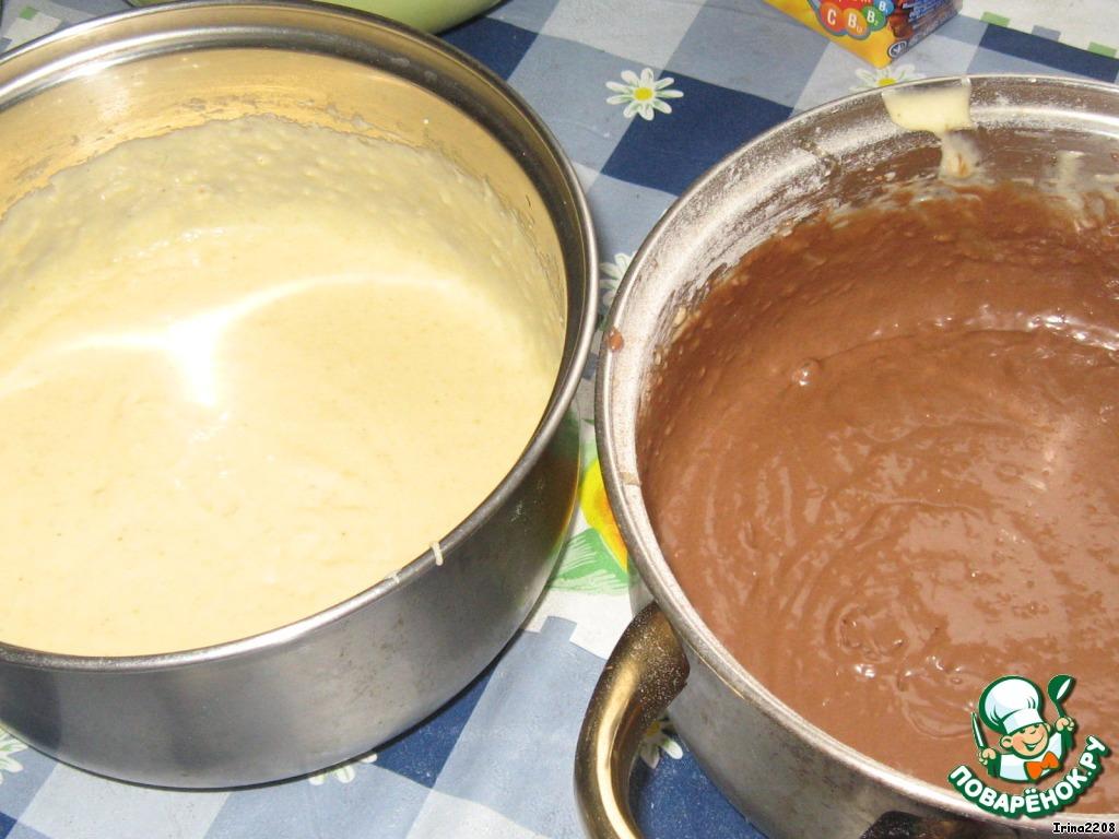 Вафли кокосово-ореховые и кокосово-шоколадные