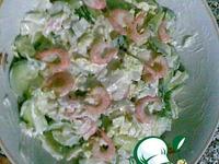 Салат Быстрый с креветками ингредиенты