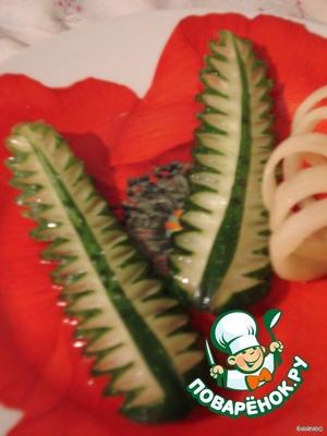 Листья из огурца – кулинарный рецепт