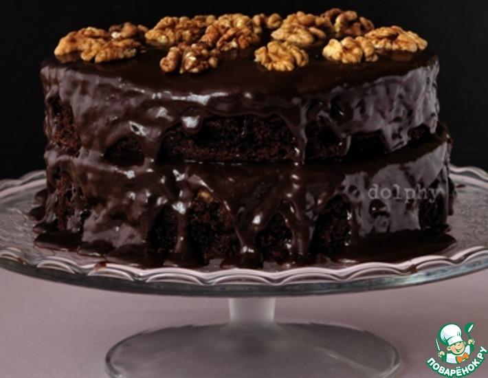 кулинарный рецепт шоколадный торт