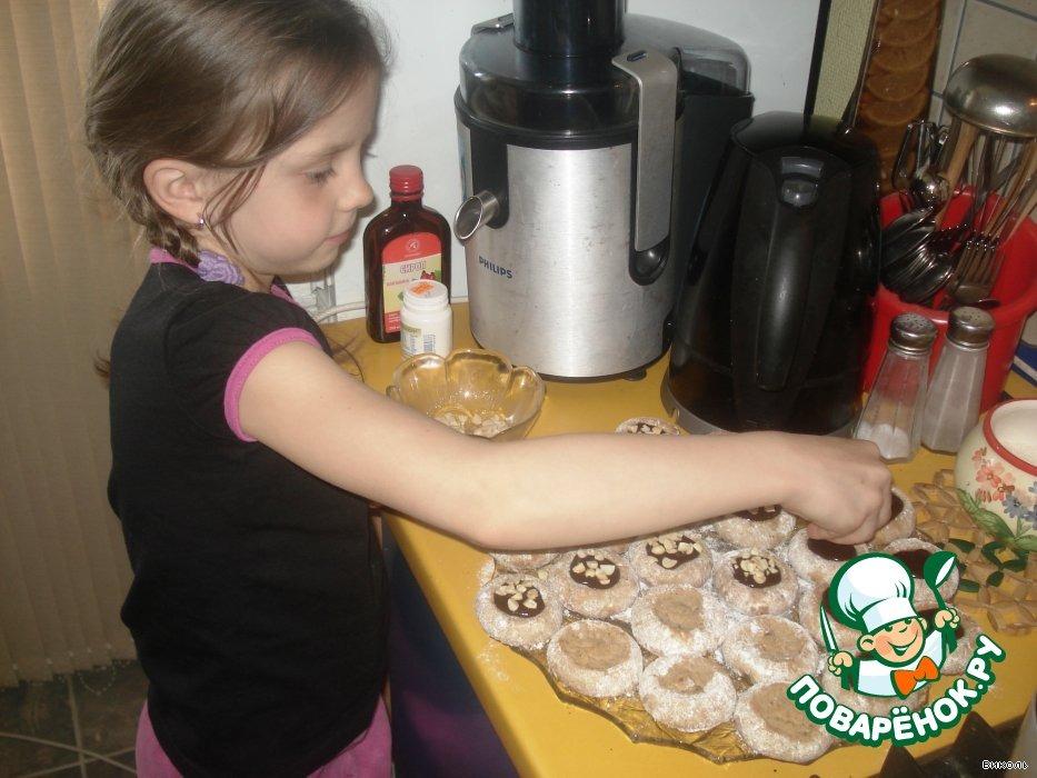 Ну, oчень ореховое печенье