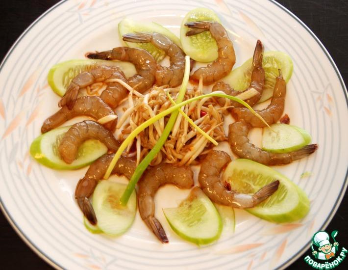 Рецепт: Креветки маринованные по-тайски