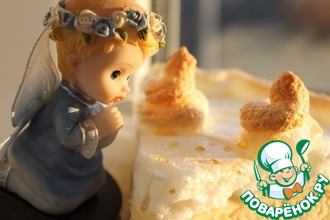 Рецепт: Творожный десерт Слёзы ангела