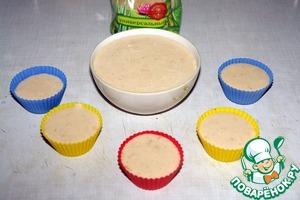 Перелить в формочки или можно сразу в креманки, в которых будете подавать. Убрать в холодильник до полного застывания (примерно 1 час).
