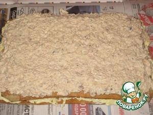 """Закусочный торт """"Рыбный Наполеон"""" – кулинарный рецепт"""