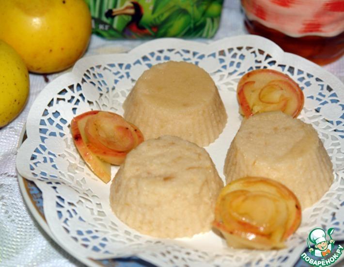 Рецепт: Яблочный крем
