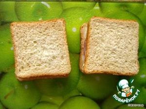 Хлеб на бутерброды в вафельнице – кулинарный рецепт