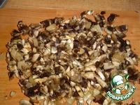 Сырно-грибной рулетик ингредиенты